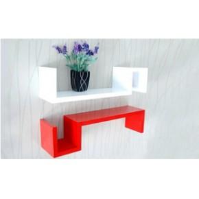 欧式宜家实木墙上小置物架厨房置物架简易置物架装饰架创意搁板