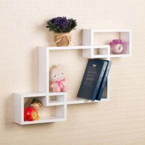 ZM004 卧室客厅 壁架子 简约现代 创意 烤漆置物架 E1级密度板