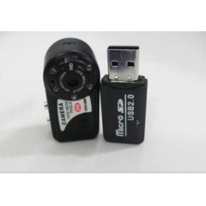 夜视红外Q5小相机 迷你运动DV记录仪 高清无线金属微型摄像机