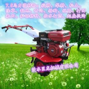 企业加工轮式果园手扶微耕机农用四冲程汽油柴油微耕机