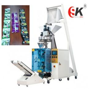松可制造五连包糖果颗粒包装机 多功能食品包装机械设备