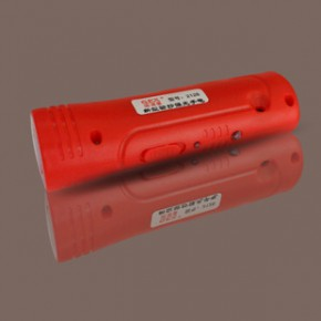 新型强光LED充电手电筒 多功能迷你验钞塑料电筒