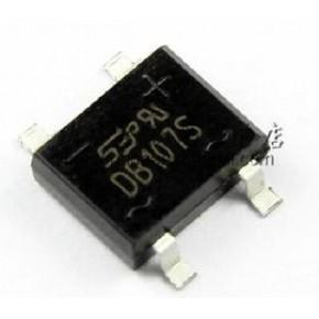 直插 DB107S桥堆 整流桥 桥式整流器  SOP-4 全新原装