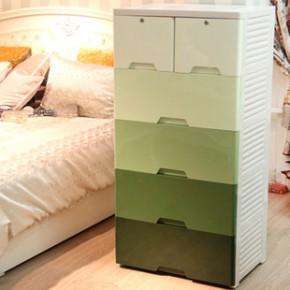 加厚特大号 塑料抽屉式收纳柜宝宝衣柜玩具柜储物柜整理柜