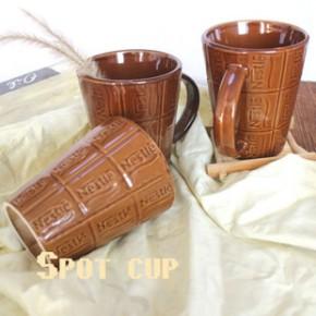 创意陶瓷马克杯子广告定制赠品水杯促销礼品复古咖啡杯定制logo