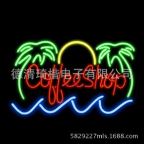 霓虹灯 霓虹吊牌 广告牌 neon sign