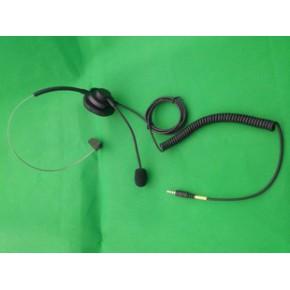 代加工耳机头戴式单耳手机耳麦,电脑直插耳机
