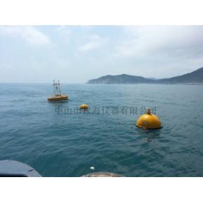 海洋水文气象监测浮标,卫星通信或GPRS/CDMA,采用海滨观测规范