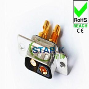 D-SUB连接器大电流,2V2大电流车针焊线公头/母座