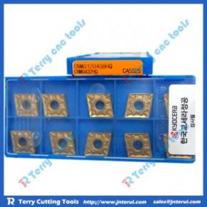 京瓷刀具数控车刀片DNMG110404/08GS CA5515/5525 钢件加工