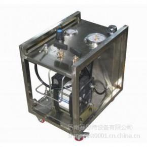 壳体耐压试验台 水压试验机设备 管路管件