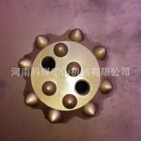 T51-127#螺纹球齿钎头,柱齿钻头