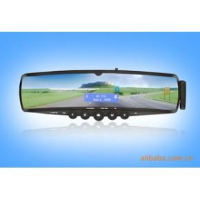 代发!供应车载蓝牙后视镜手机免提MP3带耳机支持FM