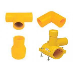 pe燃气管件厂家-pe燃气管件生产-pe燃气管件 河北颐通管业