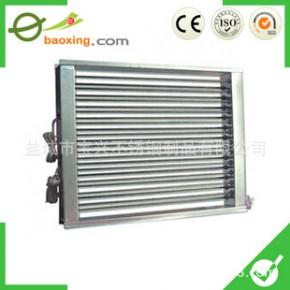 绝缘式电加热元件PTC风道电加热器,PTC绝缘波纹空调加热器