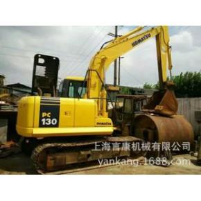 二手130挖掘机价格 小松PC130-7挖沟机