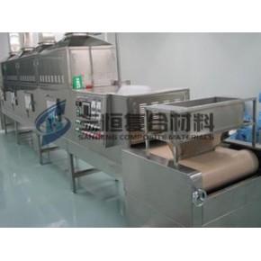 精品推荐化肥工业微波干燥机专用皮带 特富龙烘干设备布带