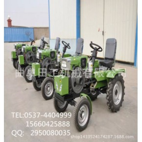 新型  柴油动力微耕机15马力单缸四轮农用拖拉机 果园管理机