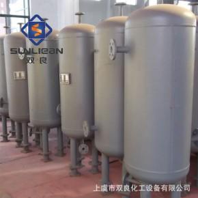 储罐 厂家批发立式钢衬塑成套储运设备 卧式发酵罐直销 储气罐