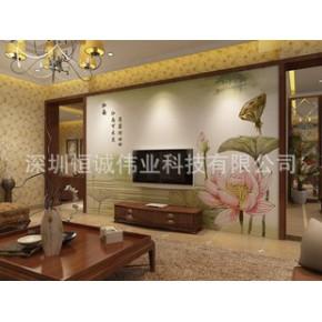 瓷砖背景墙印花机 瓷砖玻璃彩雕上色机 精雕彩色UV平板打印报价