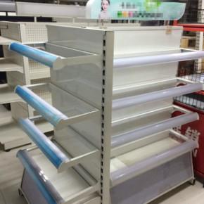 化妆品展柜设计制作 实木烤漆柜货架定制 派迪欧