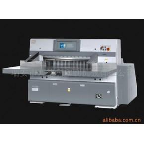QZYK920DLT液压对开程控裁纸机8英寸彩屏 万德利