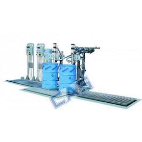 凯士CFM双头防爆润滑油灌装机 化学液体灌装机 防爆称重灌装机