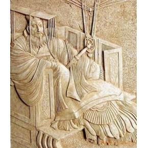人物浮雕,砂岩浮雕,浮雕板,艺术浮雕