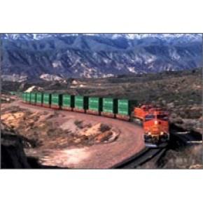 集装箱 铁路运输 火车运输 吉尔吉斯斯坦 乌兹别克 中亚