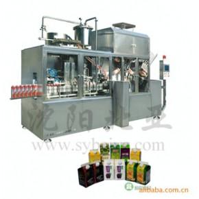 屋顶形纸盒包装机,乳品生产设备