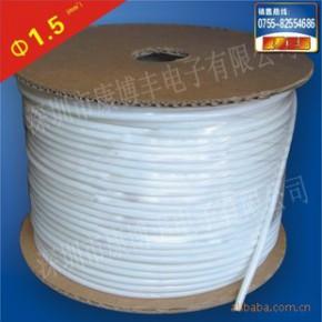白色PVC套管 线号机通用阻然线号管 电线印字空白打号 多平方规格
