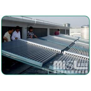 空气能热泵工程 保温水箱 太阳能工程