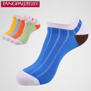 唐派 短筒运动袜 全棉手工缝头运动袜 袜子批发
