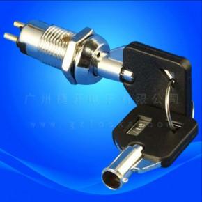 JK003环保电源锁 音响锁 报警器锁  进口钥匙开关