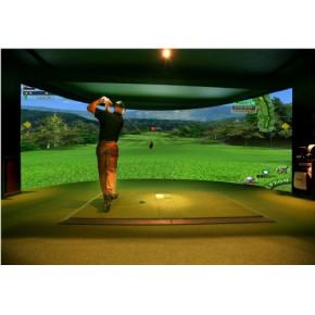 室内环幕高尔夫模拟器