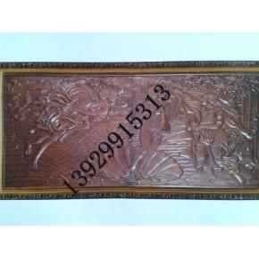 浮雕铝板屏风,仿古铜铝板浮雕屏风壁画