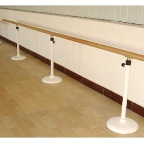 石家庄舞蹈把杆厂家白色静电喷塑工艺压腿杆批发