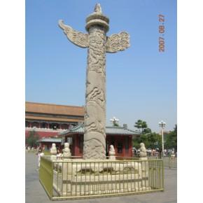 石雕龙柱,石雕华表,石雕文化柱,石雕龙