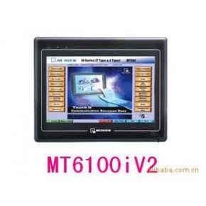 威纶通触摸屏 10寸显示屏 MT6100iV2 16:9宽屏 3个COM端口