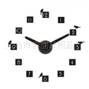 品质生活佰创汇二代DIY立体数字钟--蝶鸟版