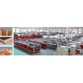 PVC异型材高速生产线和木塑型材/PVC发泡型材生产线
