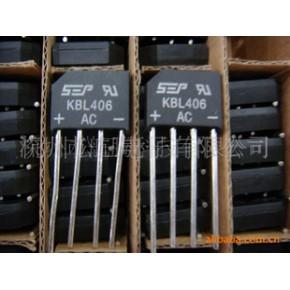 桥式整流器 KBL406 KBL408 KBL410 方形整流桥堆 扁桥