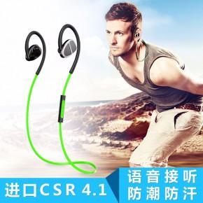 厂家批发新款迷你蓝牙耳机双耳运动挂耳式通用耳机