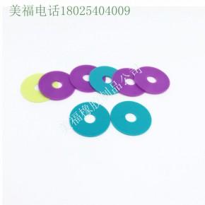 防水电连接器专用黑色硅橡胶垫片垫圈环保无毒