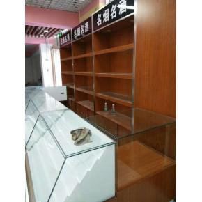 天津峰智货架厂展柜制作流程木质展柜尺寸批发价格