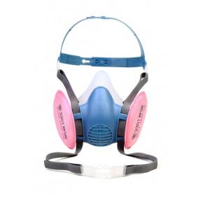 宝顺安KP100系列防尘硅胶半面罩