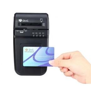 德卡接触式非接触式磁条卡T10多合一医保社保刷卡器
