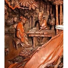 上海零爵历史人物浮雕雕刻