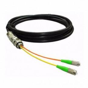厂家直销FC单模双芯防水尾缆尾纤3米可定制