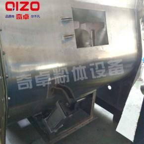 苯乙烯混合机、热固塑料不锈钢卧式双轴无重力混合机
